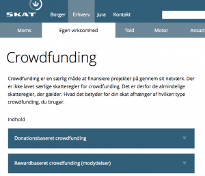 SKAT og crowdfunding - booomerang.dk - Michael Eis